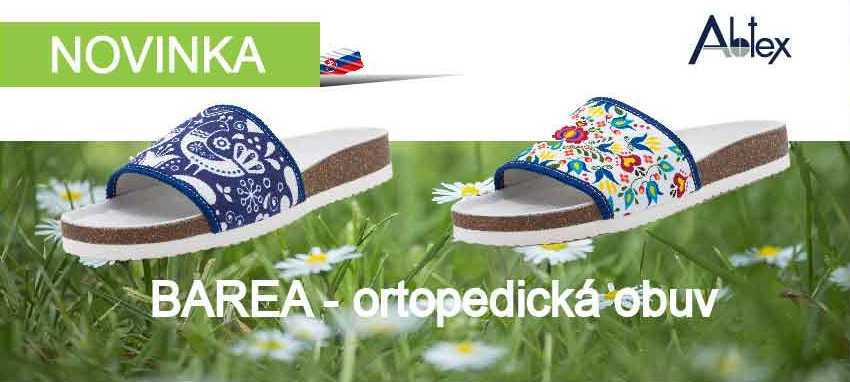 Barea - ortopedická obuv